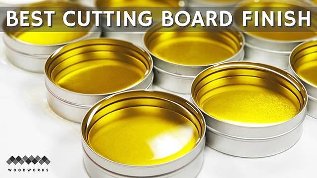 best cutting board finish