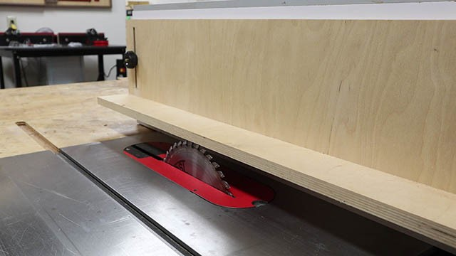table saw L Fence 1