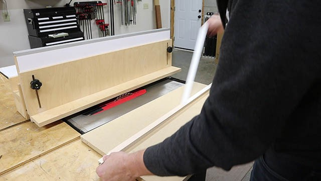 table saw L Fence 3