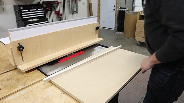 table saw L Fence 5