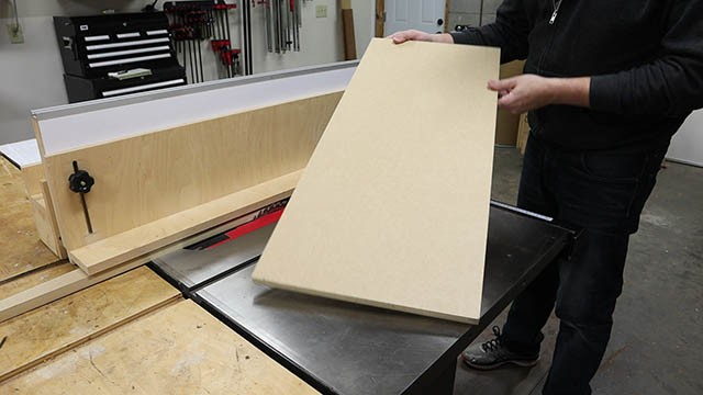 table saw L Fence 7