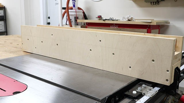 table saw subfence 1