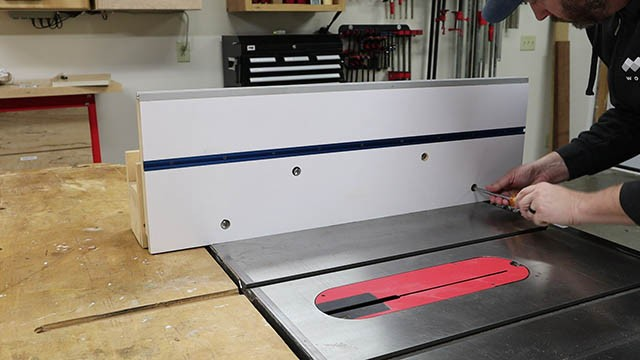table saw tall auxilliary fence 1