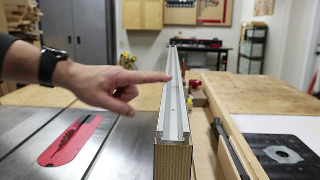 table saw tall auxilliary fence 5