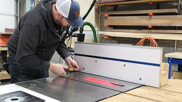 table saw tall auxilliary fence position4
