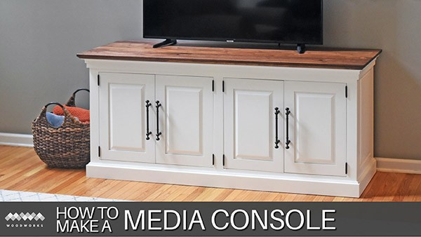 how to make a media console