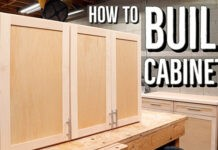 how to build wall cabinets