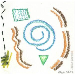 Glyph: an energetic symbol for SoulPath Alchemy™