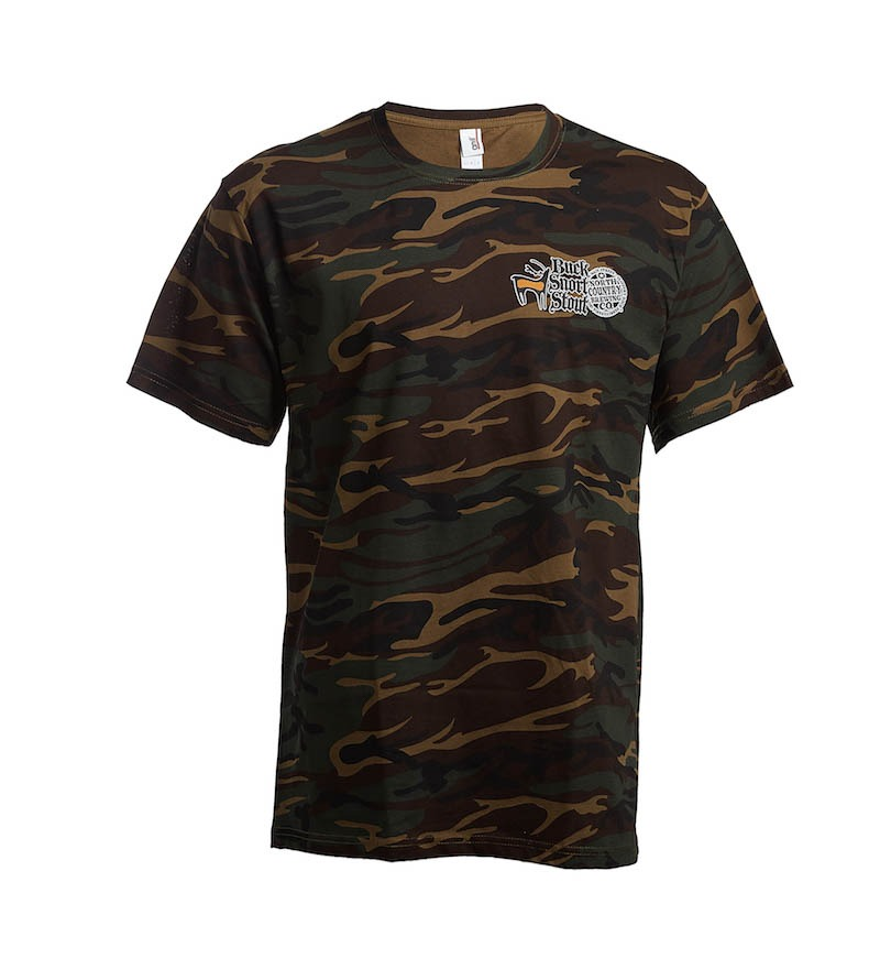 Buck Snort Stout shirts are made of 100% cotton preshrunk in a Heavyweight 6.1 oz Shirt. Short Sleeve