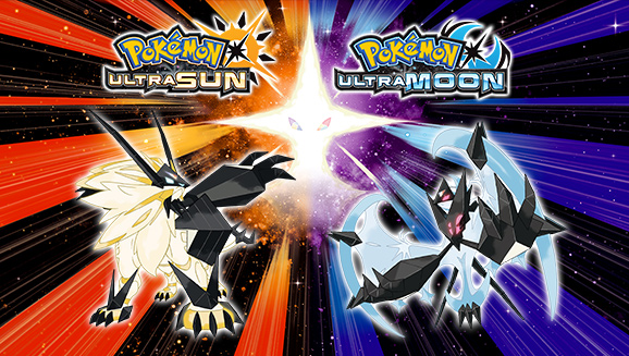 Pokemon Ultra Sun and Ultra Moon Promotional Release Art