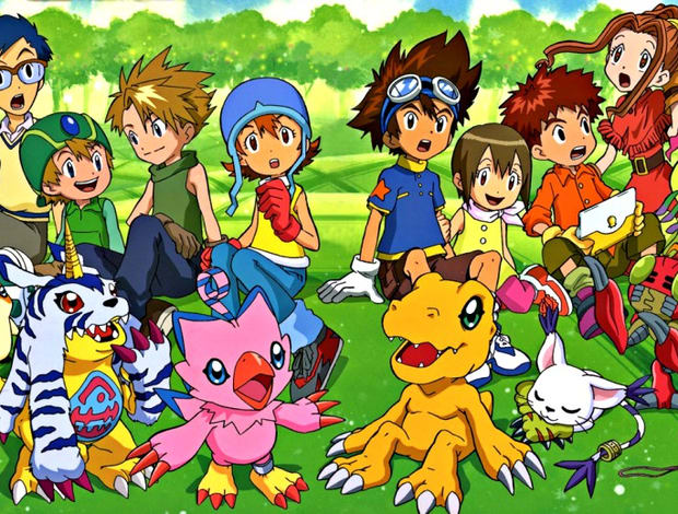 Digidestined and their Digimon