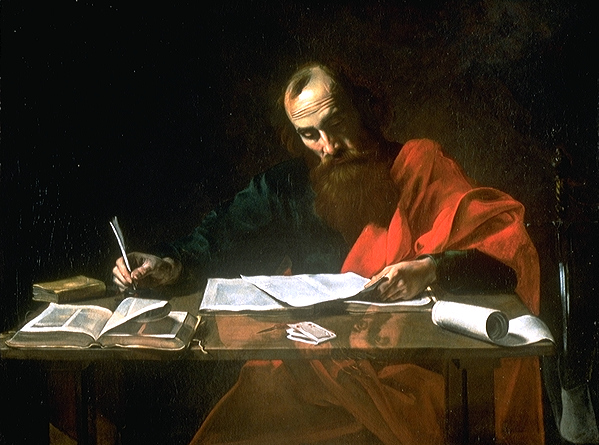 Painting of Saint Paul predicting the rise of Team Solo Mid in the NA LCS
