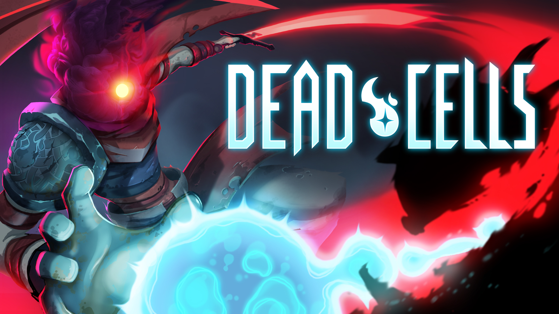 Promotional art for the metroidvania video game Dead Cells