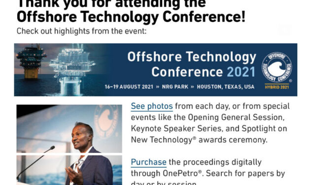 OTC Conference 2021 – Post Show Issue