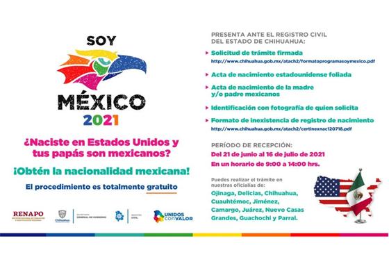 """Da inicio la sexta edición del programa """"Soy México"""""""