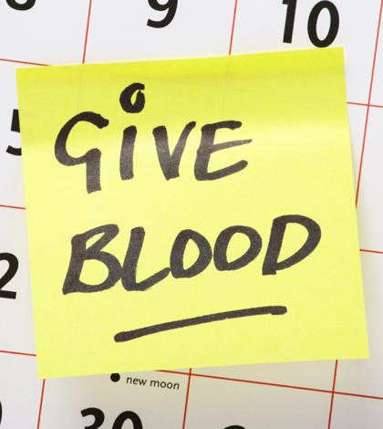 Desert Blood Drive Scheduled
