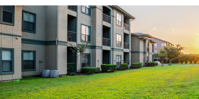Apartment complex sells for record price