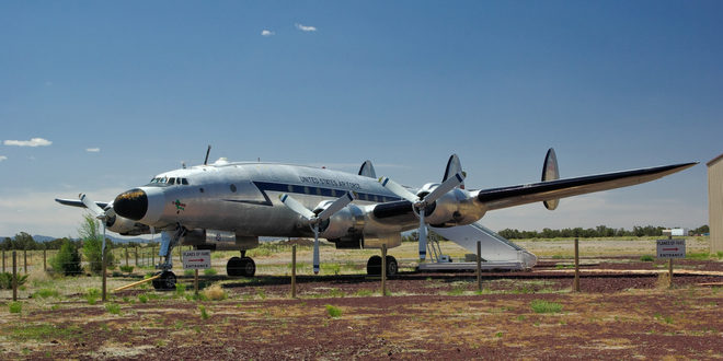 Aircraft in Chino Valley Airport