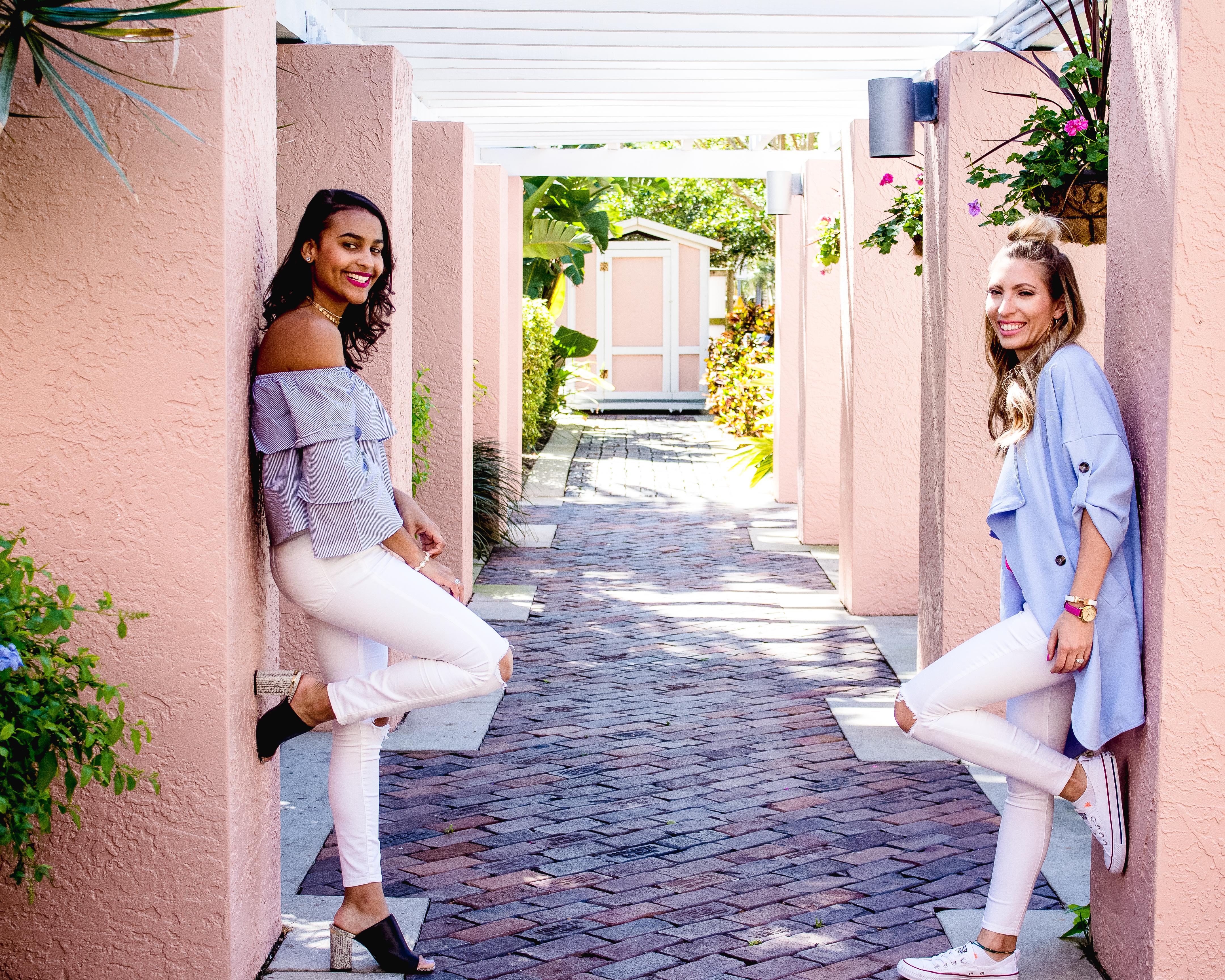 White Jeans Spring