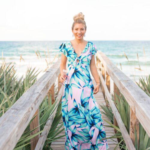 ROSEMARY BEACH MAXI DRESS