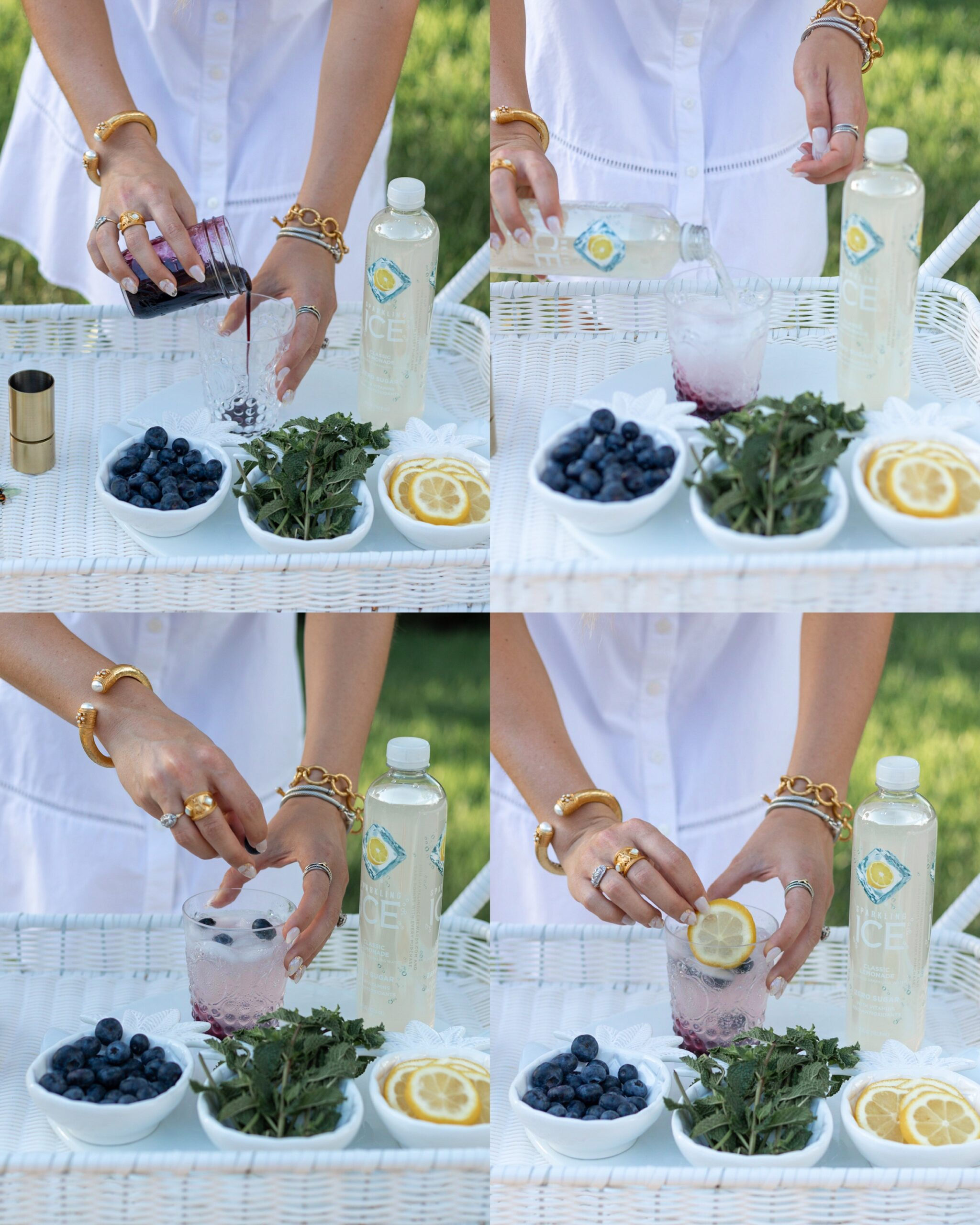 HOW TO MAKE BLUEBERRY LEMONADE