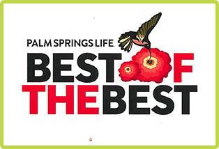 Palm Springs Life Best of the Best Award Logo