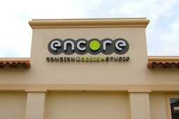 Storefront of Encore Consignment