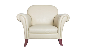 White Luxury Arm Chair