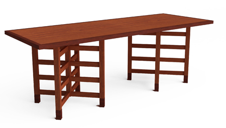 Wooden Dining Room Table from Encore Consignment