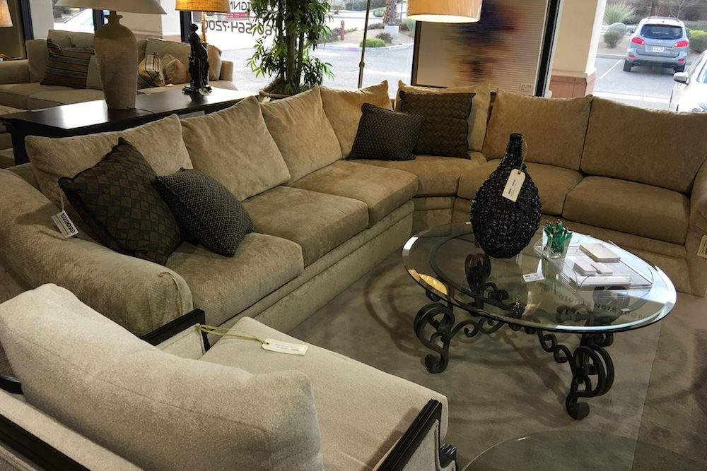Luxury Consignment Sectionals for Sale