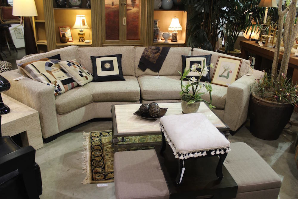 Sectionals Available in Our Consignment Store