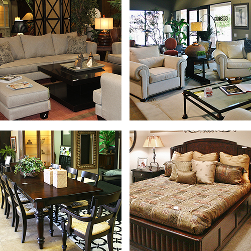 Collage of Quality Consignment Furniture Pieces