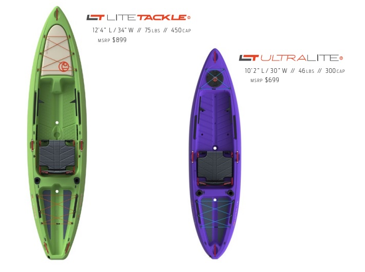 Crescent Kayaks LT Light Tackle and Ultralight Payne Outdoors