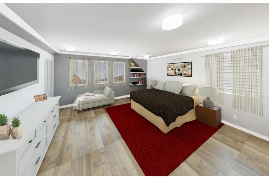 Chicago Remodel Master Bedroom