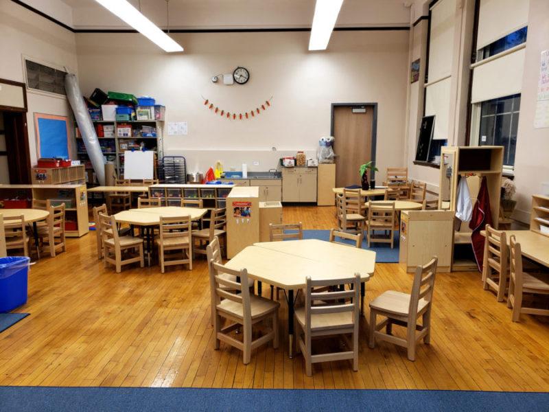 Chicago Public School Complete Classroom Renovation