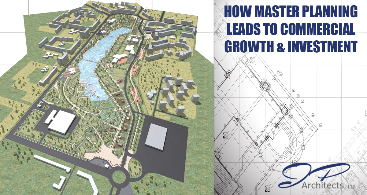 This is an image of a master plan for our blog on master planning and commercial investment
