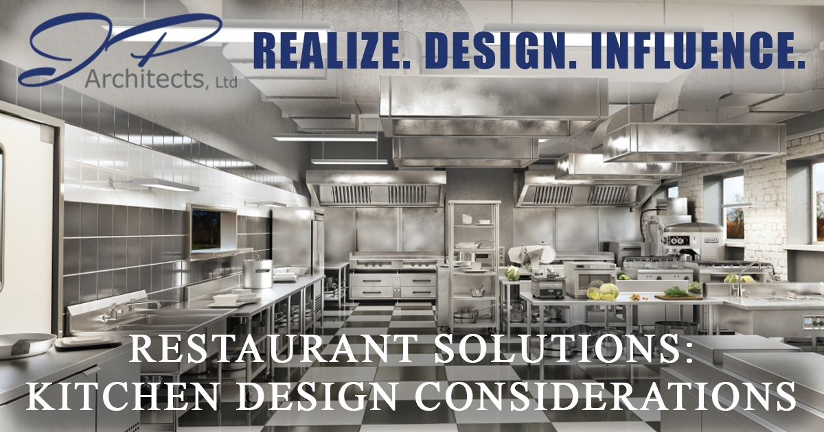 This is the cover image for our Restaurant Solutions blog about Kitchen Design Considerations