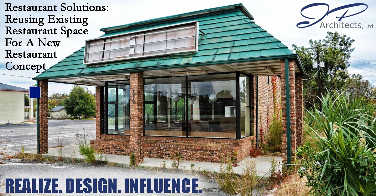 This is the cover image for our blog about reusing existing restaurant space for new restaurant concepts.