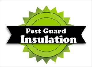 Insulation with Pest Control Seal