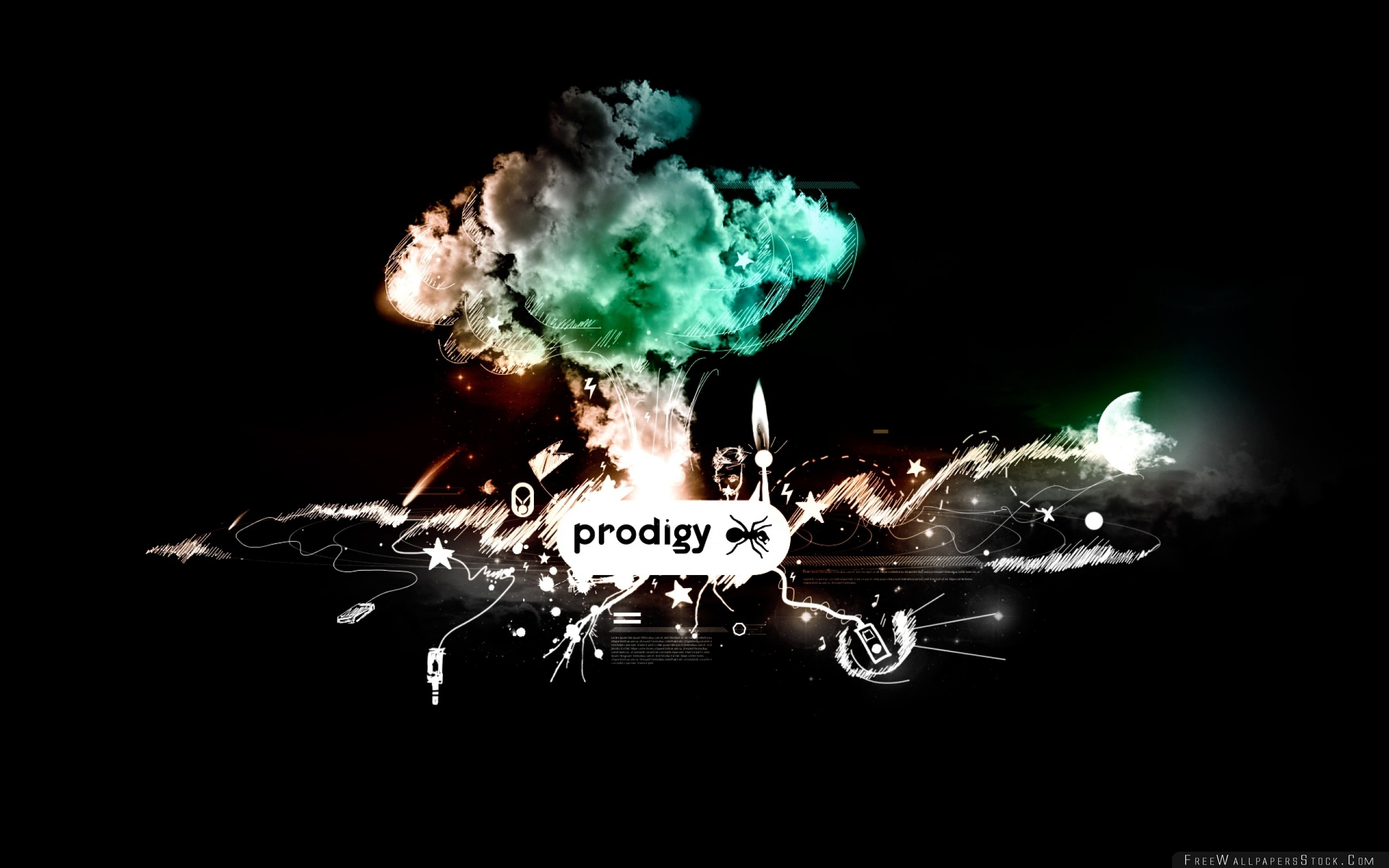 Download Free Wallpaper The Prodigy Gralhics Ant Items Smoke