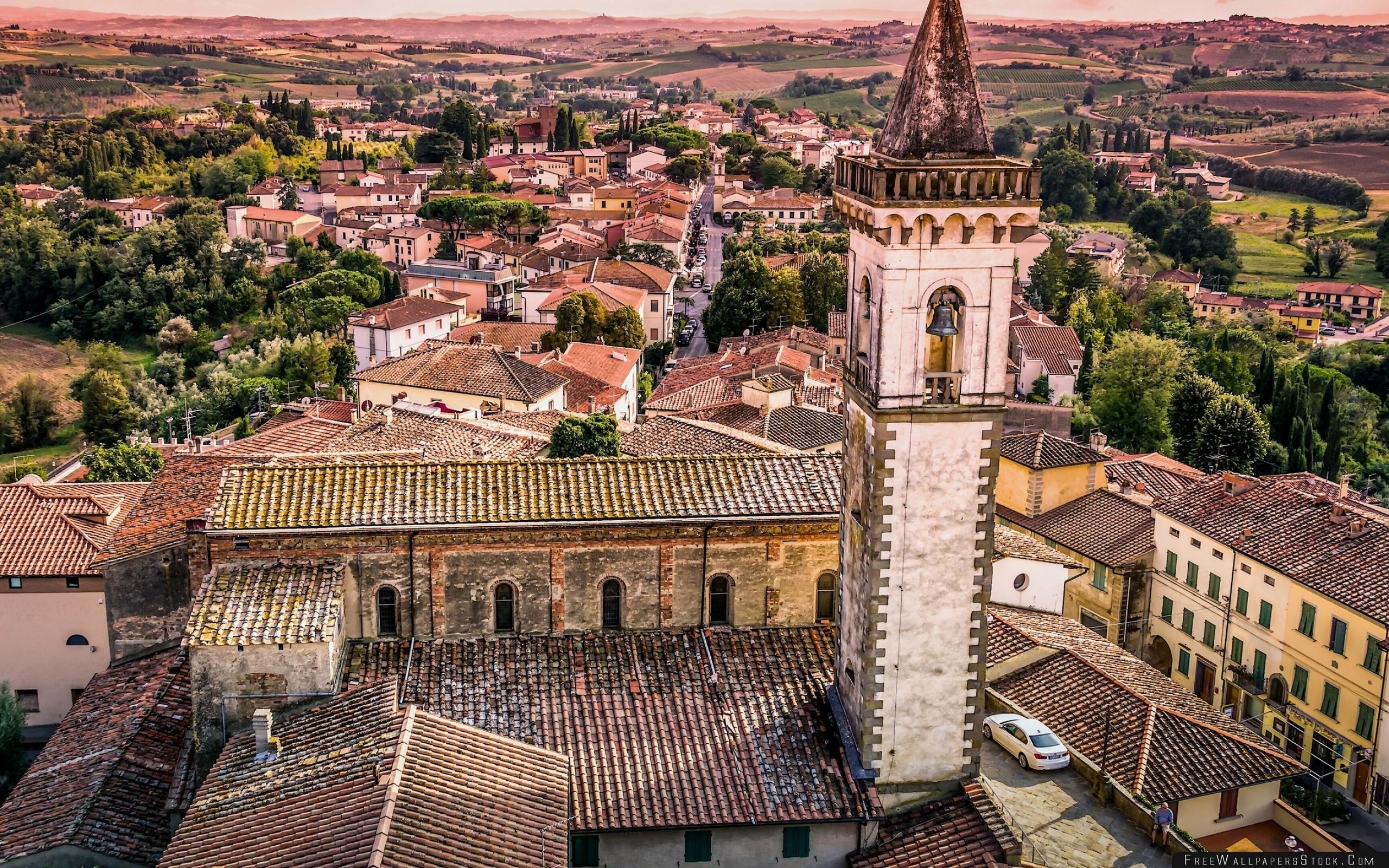 Download Free Wallpaper Vinci Tuscany Italy Church   Santa Croce