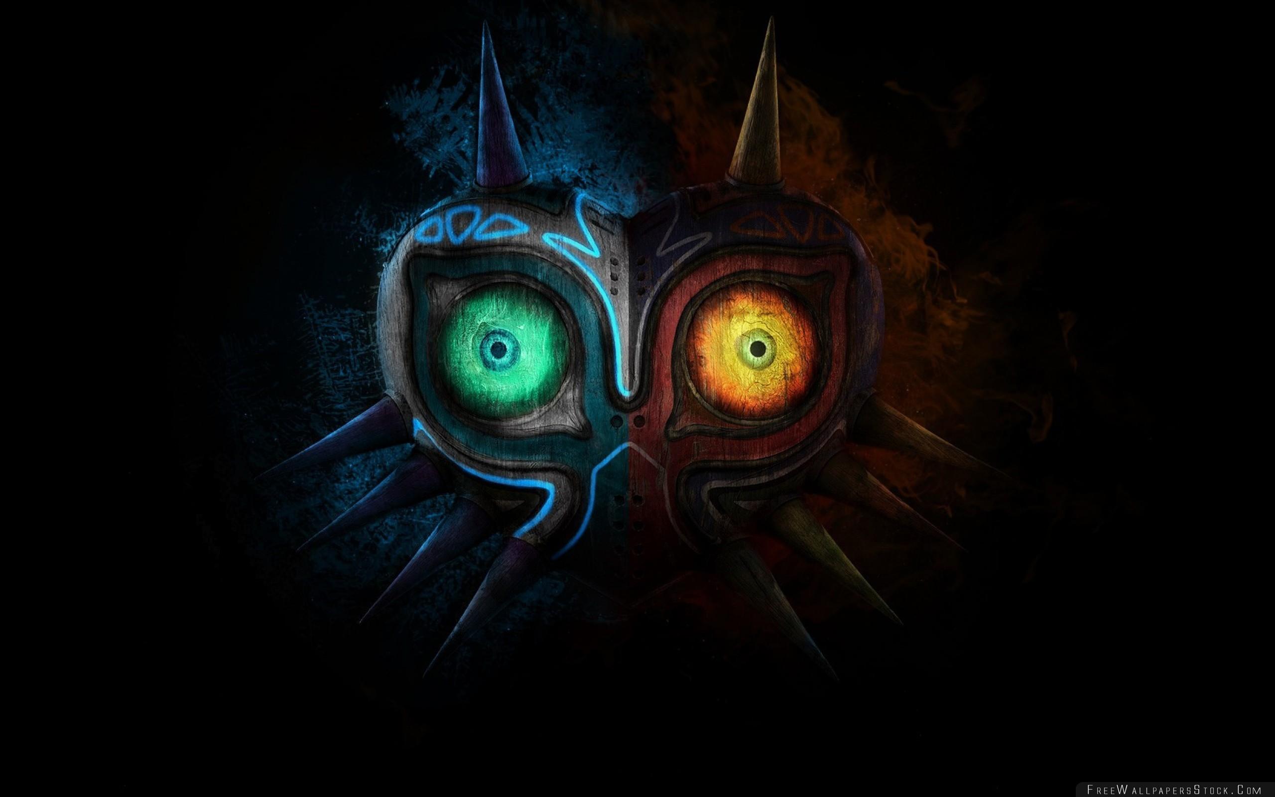 Download Free Wallpaper Zelda Majoras Mask Art