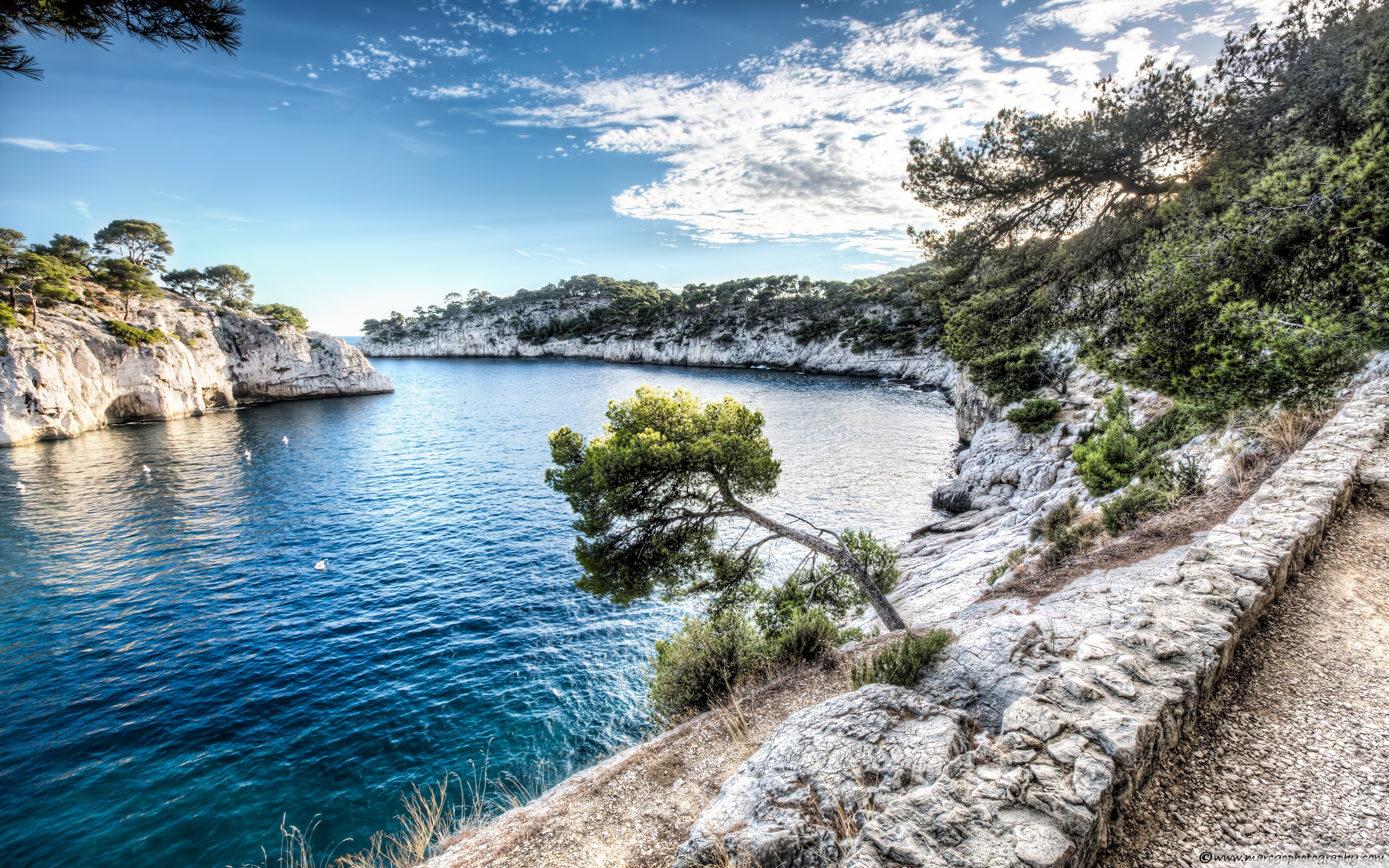 Download Free WallpaperCalanque   Port Miou Cassis France