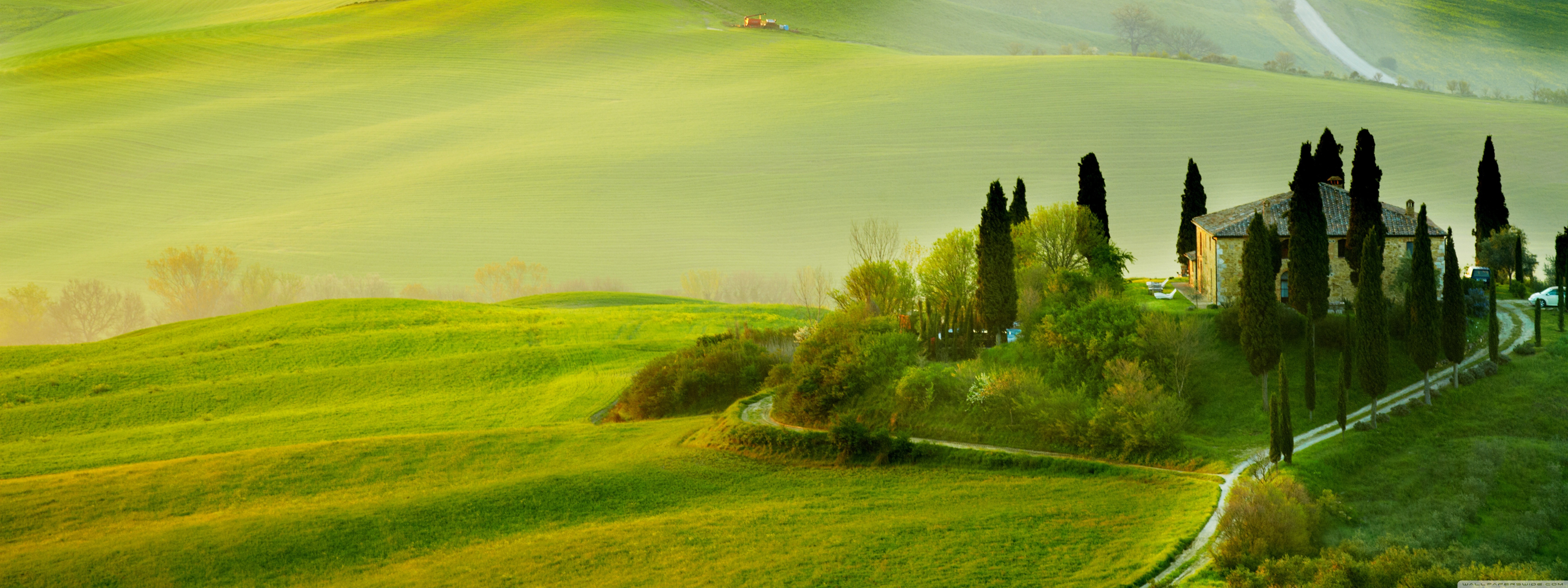 Download Free WallpaperTuscany Spring Landscape
