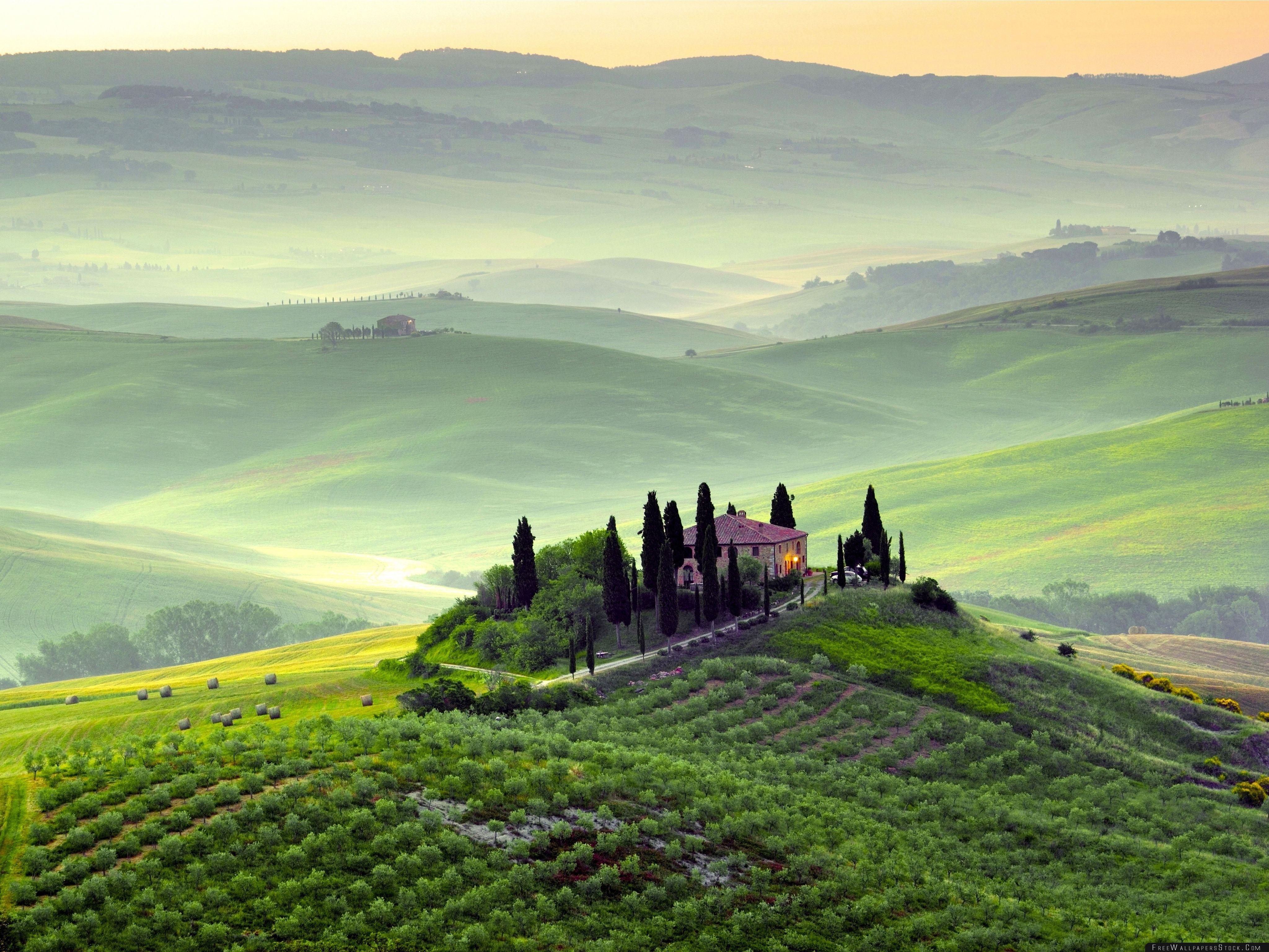 Download Free Wallpaper Pienza Toscana Tuscany Italy