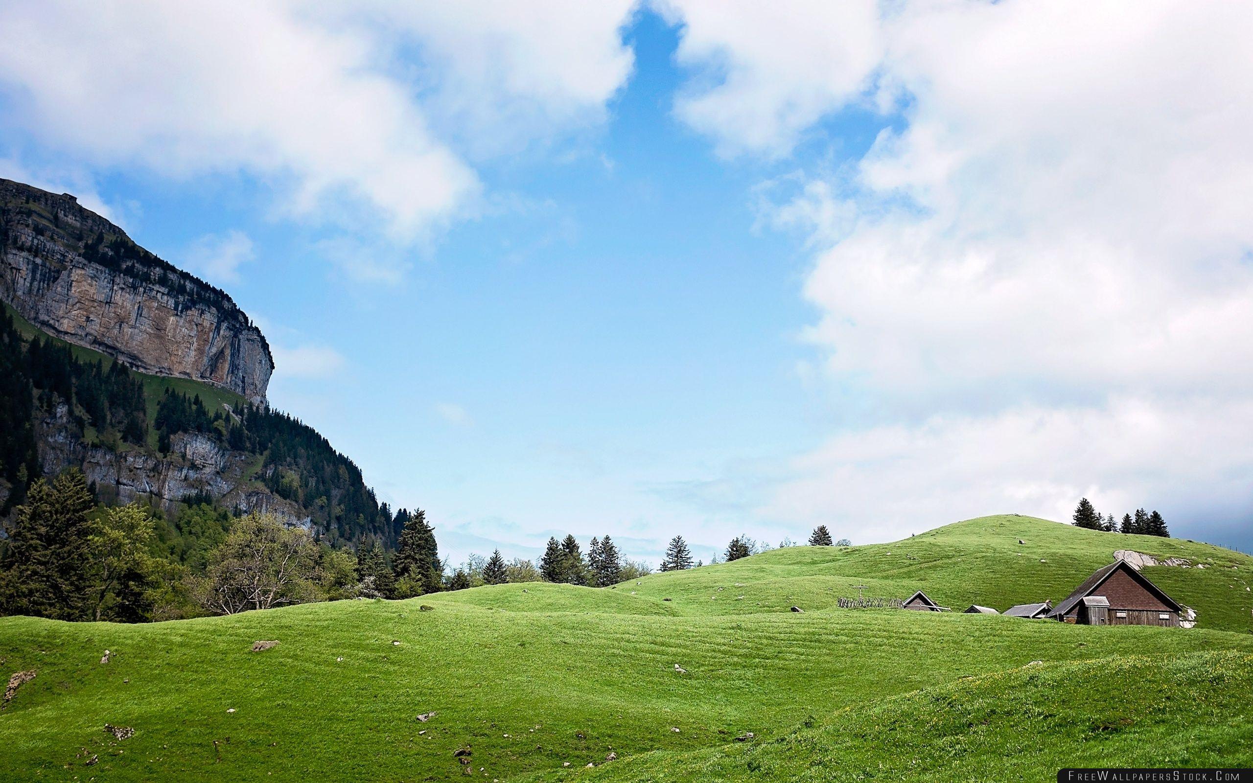 Download Free Wallpaper Switzerland Mountain Landscape