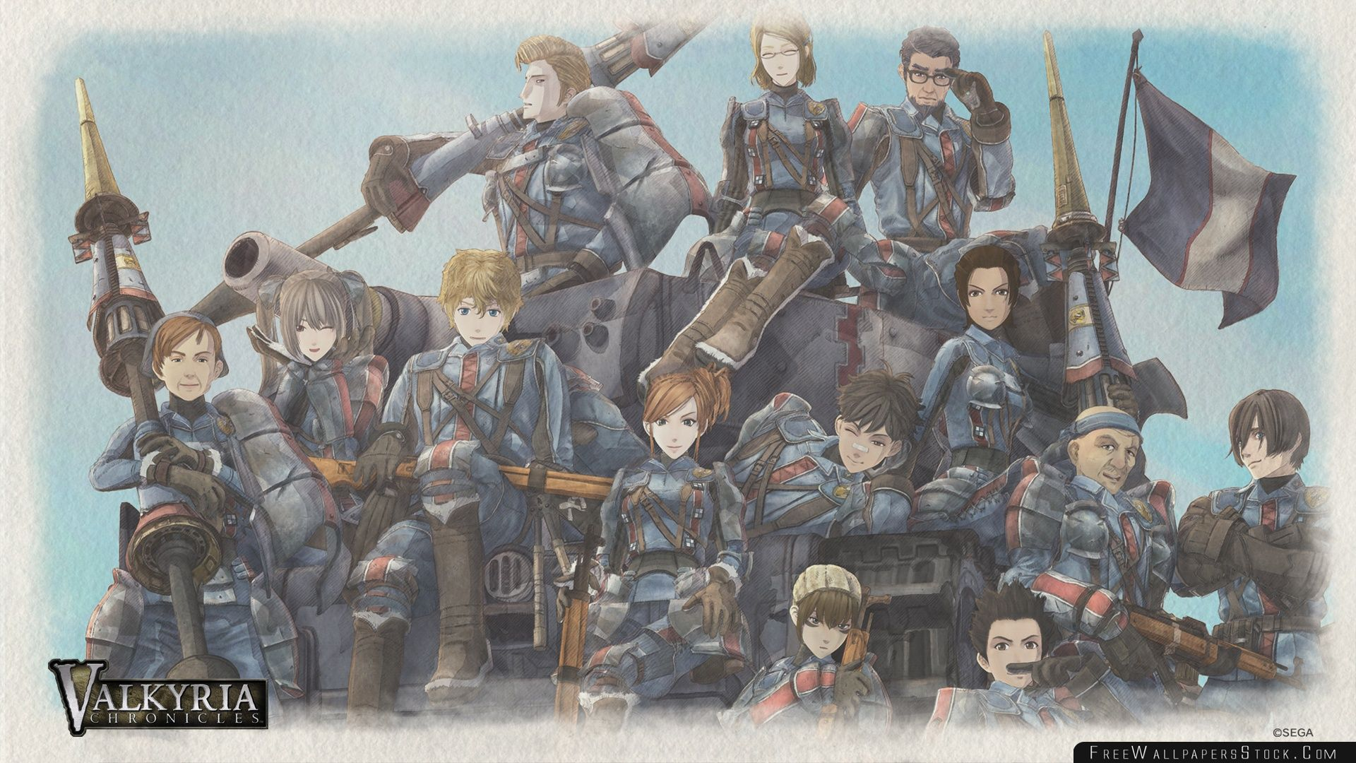 Download Free Wallpaper Valkyria Chronicles Game