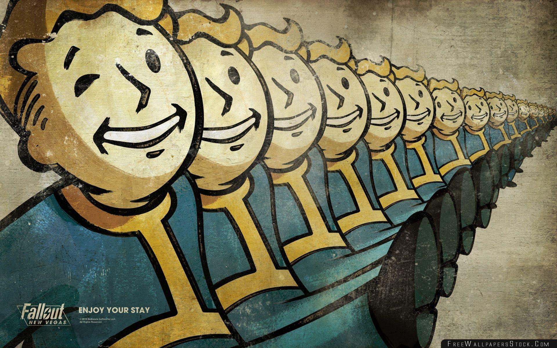 Download Free Wallpaper Vault Boy Fallout New Vegas