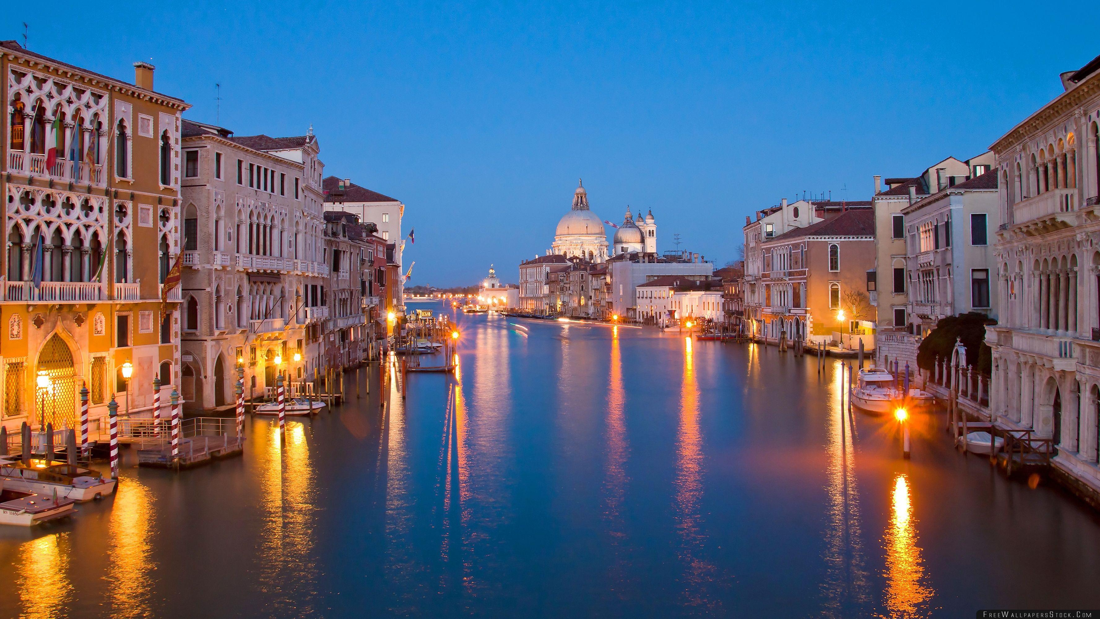 Download Free Wallpaper Venice   Night