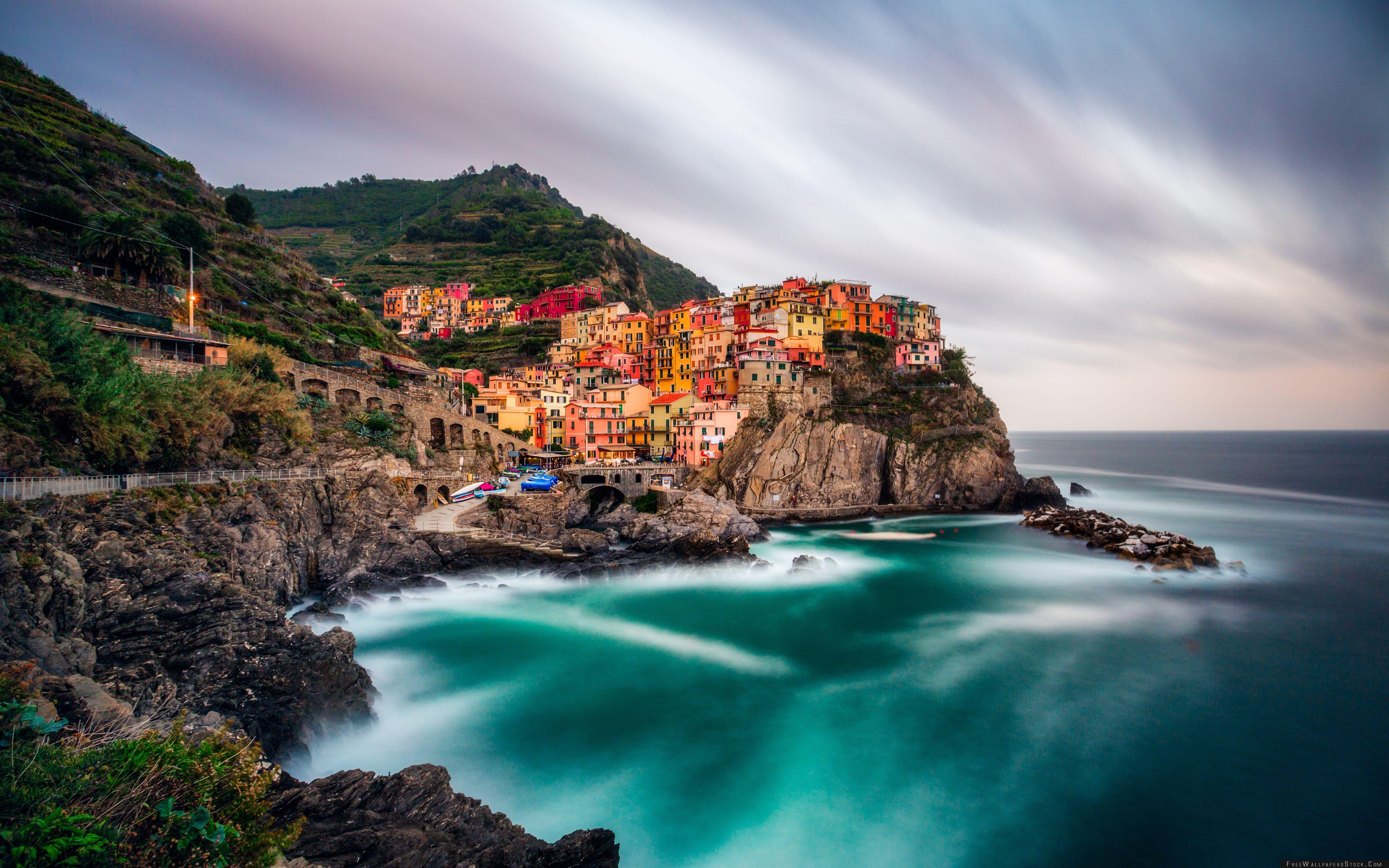 Download Free Wallpaper View   Manarola Cinque Terre Italy